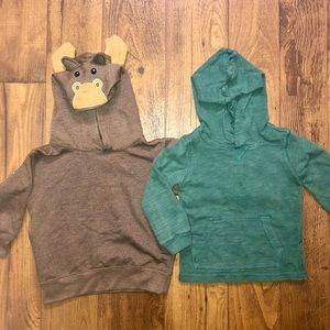 Set of 2 hoodies size 3T